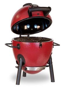 Kamado smoker grill