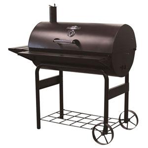 charcoal barrel grill