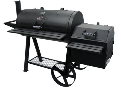 charcoal grill smoker combo