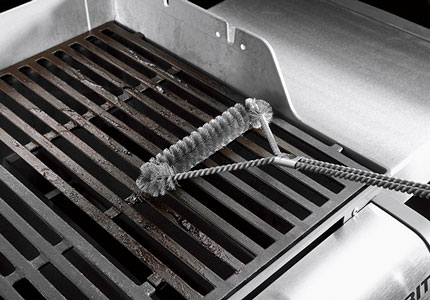 how to clean a- grill
