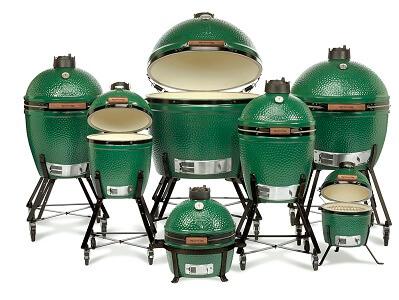 kamado grill size